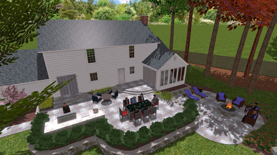 Environmental Design Associates Is A True U201cdesign/buildu201d Company. We Design  And Construct Everything For The Outside Of Your Home Or Business.